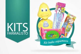 Kit Espumoso Para Niños Caja Con 4 Productos