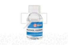 Alcohol Yodado Frasco Con 60 mL - Antiséptico