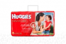 Huggies Natural Care Paca Con 50 Pañales – Talla XXG