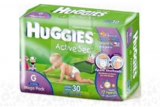 Etapa 3 G Pañal Huggies Active Sec Paca Con 30 Unidades – Mega Pack