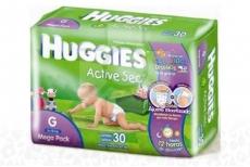Huggies Active Sec Empaque Con 30 Pañales – Talla G