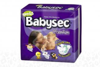 Pañal Babysec Premium Paca Con 20 Unidades