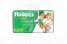 Huggies Active Sec Paca Con 30 Unidades - Etapa 4/XG