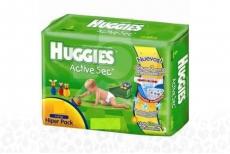 Pañal Huggies Active Sec Hiper Pack X 30 Unidades