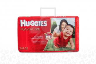 Etapa 3/G Pañal Huggies Natural Care Paca Con 50 Unidades