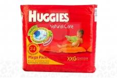 Etapa 5/XXG Pañal Huggies Natural Care Paca Con 20 Unidades