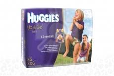 Huggies Up & Go Paca Con 28 Unidades - Etapa 4/XG y 5/XXG
