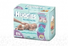 Huggies Natural Care Paca Con 30 Unidades - Etapa RN