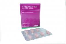 Trifamox 500 mg Caja Con 14 Comprimidos Masticables Rx2
