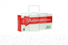 Azitromicina 500 mg Caja Con 3 Tabletas Rx2