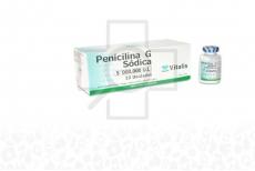 Penicilina G Sódica 5000000 U.I Caja Con 10 Unidades Polvo Para Reconstituir en Suspension Rx2