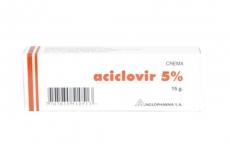 Aciclovir 5 % Caja Con Tubo x 15 g Rx