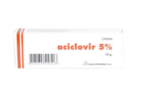 Aciclovir 5 % Caja Con Tubo Con 15 g Rx