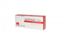 Quetiazic 200 mg Caja Con 30 Comprimidos Recubiertos RX4