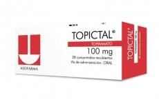 Topictal 100 mg Caja Con 28 Comprimidos Recubiertos Rx4