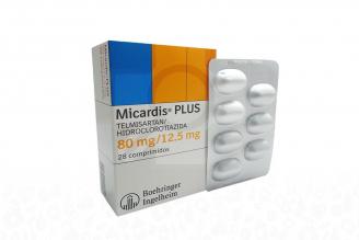 Micardis Plus 80 / 12.5 mg Caja Con 28 Comprimidos Rx