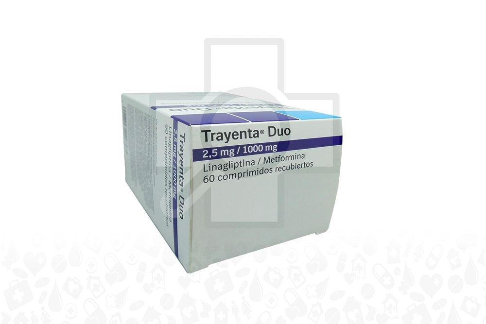 Comprar Trayenta Duo 2.5/1000mg X 60 Comprimidos En