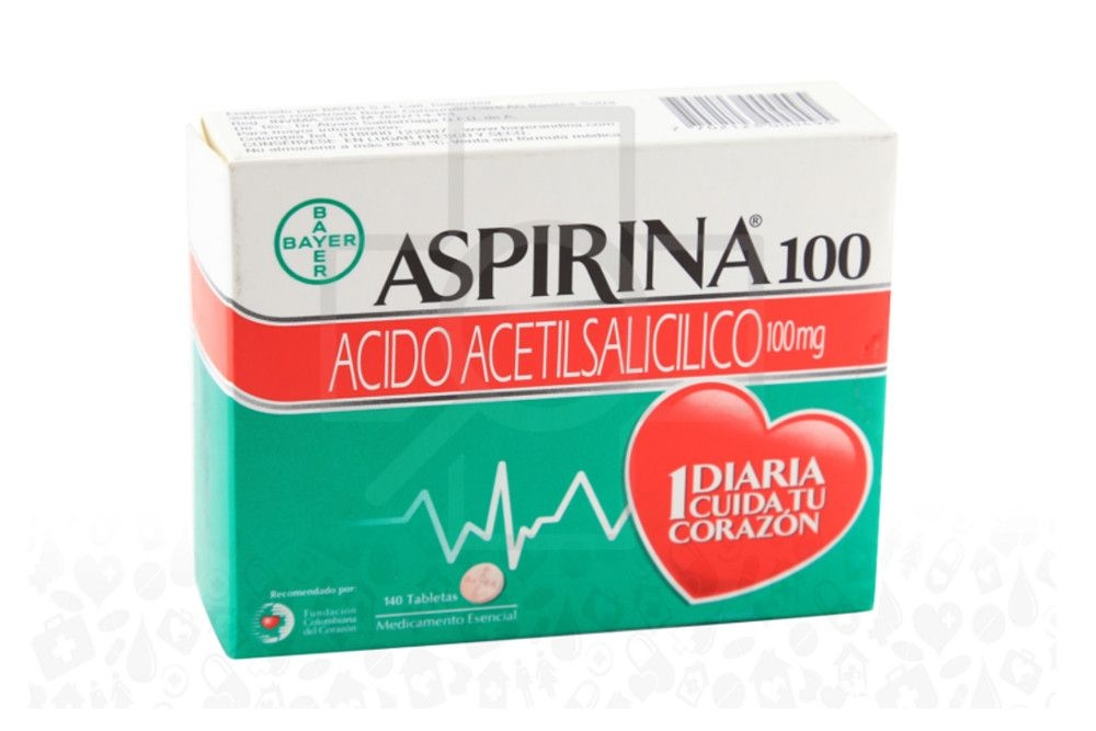 Aspirina 100 / Perindopril 8 mg tablets