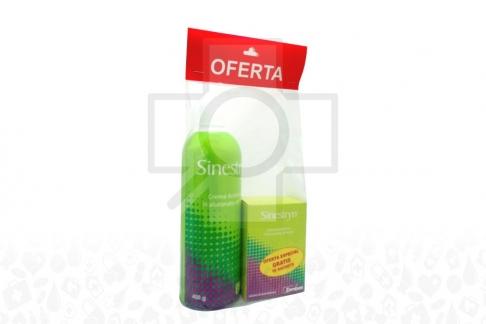 Sinestryn Oferta Especial Gratis18 Sachets + Frasco x 400 g - Crema - Antiestrías
