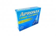 Apronax Liquid Gel 275 mg Caja Con 50 Cápsulas