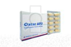 Oxcar 600 mg Caja Con 10 Tabletas Recubiertas Rx4
