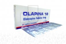 Olapina 10 mg Caja x 10 Tabletas Recubiertas Rx4