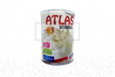 Atlas Vitaminas Sabor A Vainilla Tarro x 400 g