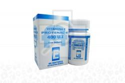 Protenal - E 400 U.I Caja Con Frasco Con 60 Cápsulas De Gelatina Blanda