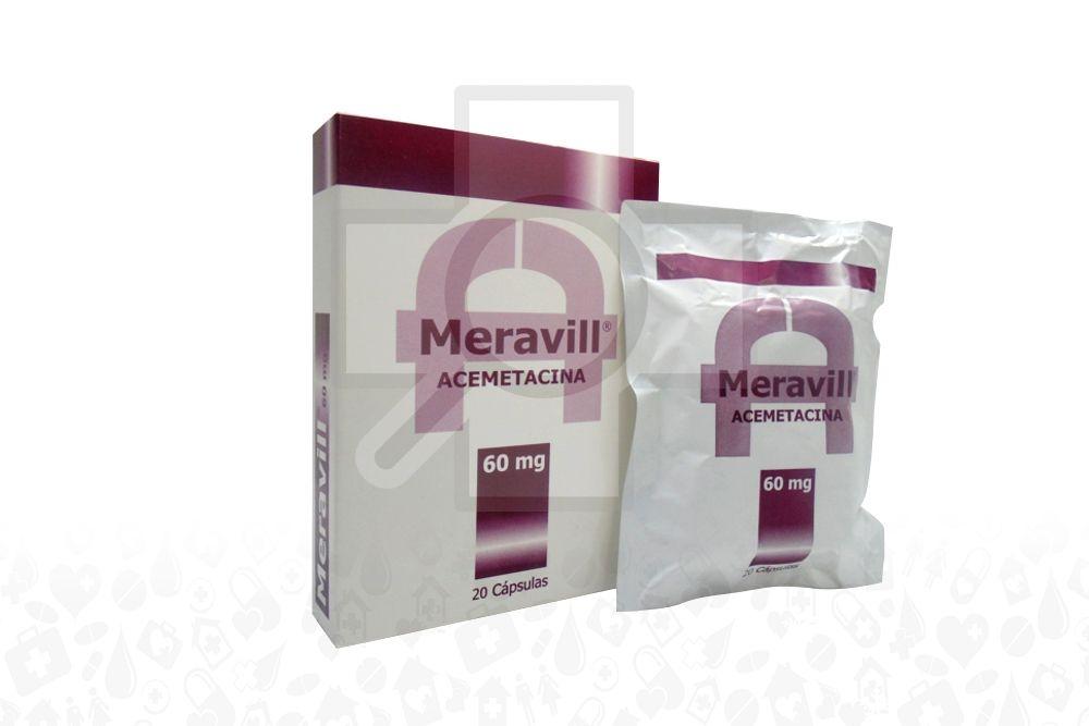 Meravil 60 mg Caja x 20 Cápsulas Rx