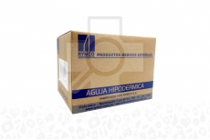 Aguja Hipodérmica Caja Con 100 Unidades