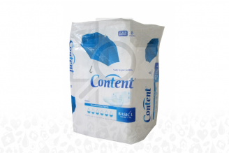 Pañales Content Basic Talla L Paca Con 8 Unidades
