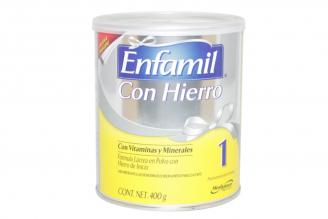 Enfamil Con Hierro 1 Tarro Con 400 g