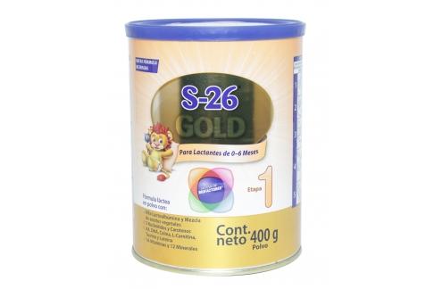 S -26 Gold Lata x 400 g Lactantes de 0 a 6 Meses