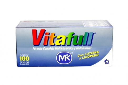 Vitafull Senior Caja x 100 Tabletas Recubierta