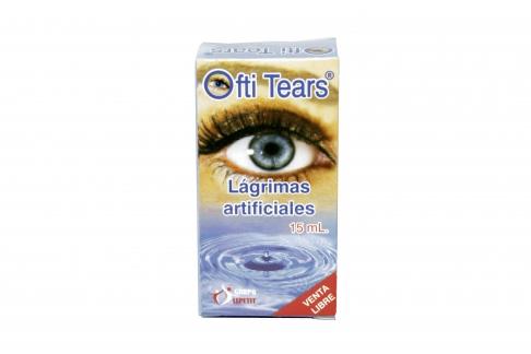 Ofti Tears Caja Con Frasco Gotero x 15 mL