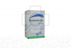 Doxorubicina Polvo Liofilizado Caja x 50 mg RX