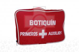 Botiquín Primeros Auxilios Para Vehículo Maleta Con 19 Productos