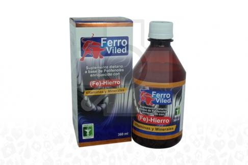 Ferro Viled Caja Con Frasco X 360 mL