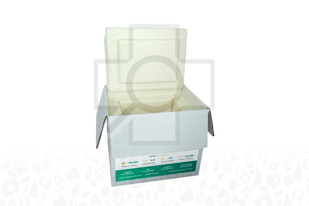 Kit Caja Biotérmica + Gel Cadena De Frío