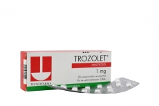 Trozolet 1 mg Caja Con 28 Comprimidos Recubiertos Rx4