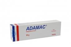 Adamac Gel Caja Con Tubo X 30g RX