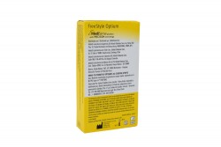 FreeStyle Optium Caja Con 50 Tiras De Prueba De Glucosa Sanguínea