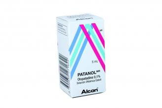 Patanol Solución Oftálmica  0,1 % Caja Con Frasco Con 5 mL Rx