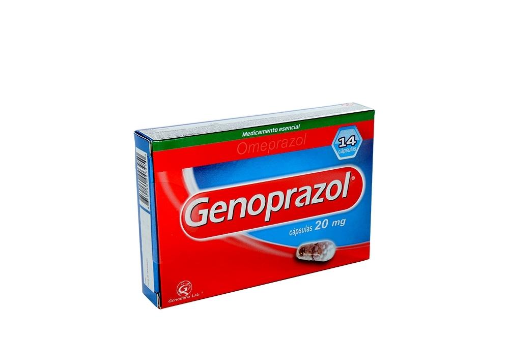 Genoprazol 20 mg Caja Con 14 Cápsulas Rx