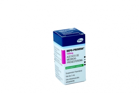 Depo-Provera 150mg/ 3mL Suspensión Parenteral Vial Rx