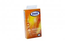Condones Duo Estimulante Estriados Caja Con 6 Unidades