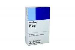 Pradaxa 75 mg Caja Con 30 Cápsulas Rx1