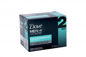 Jabón Dove Men Care Fórmula Suave Caja Con 2 Barras Con 90 g C/U