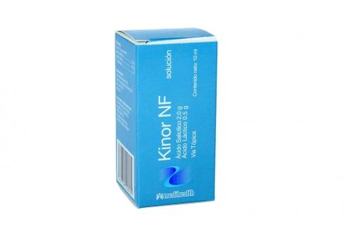 Kinor NF 2.0 g / 0.5 g Frasco x 10 mL Solución