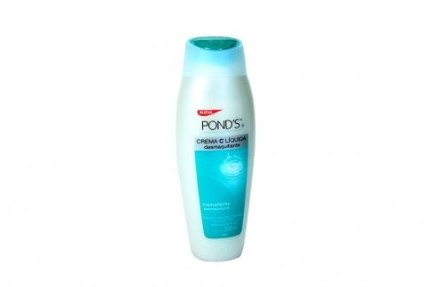 Pond´s Crema C Liquida Desmaquillante Frasco x 200 mL